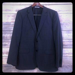 DKNY blazer - gray/navy - lord & Taylor